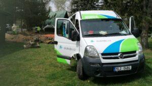 Autokemp Liberec - jarní práce 2020